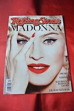 Madonna March 12, 2005 Rolling Stone Celebrity Music Magazine