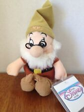 DOC FROM SNOW WHITE Disney Bean Bag Plush EUC w/ TAGS from The Disney Store