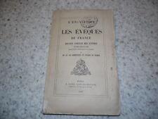 1865.L'encyclique et les évêques de France.Collectif