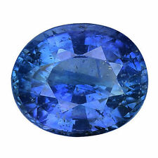 Very Good Cut Oval Blue Loose Natural Sapphires