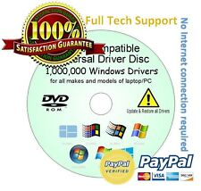 Panasonic Alienware HP Drivers Update/Restore/Rescue Disc Windows Vista/7/8/XP