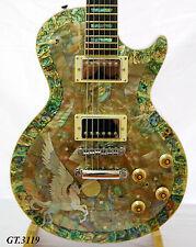 Antonio-Solid Electric Guitar Real Natura Pegasus&Abalone Handmade Inlay GT3119
