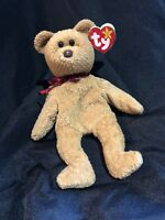 TY Beanie Baby CURLY The Bear RARE WITH ERRORS