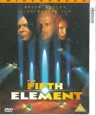 THE FIFTH ELEMENT DVD Bruce Willis Chris Tucker Brand New Sealed 5th New Sealed