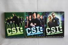 CSI: Crime Scene Investigation DVD Complete Seasons 1-3