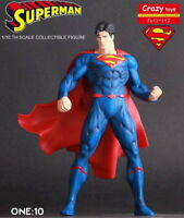 CRAZY TOYS SUPERMAN JUSTICE LEAGUE  COLLECTIBLE FIGURE STATUE 7''