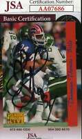 Thurman Thomas 1993 Classic Jsa Coa Hand Signed Authentic Autograph
