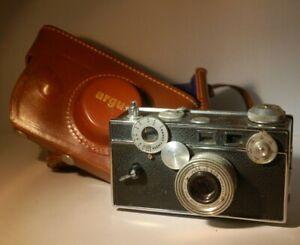 Vintage ARGUS Range Finder 50mm F/3.5 Coated Cintar Camera