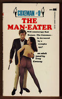 Coxeman #9 The Man Eater 1968 1st ed. spy novel erotica GGA sleaze EX+ cond