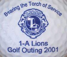 (1) Lions International Logo Golf Ball