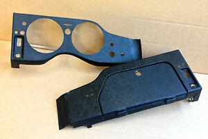 Jaguar E-type Dashboards Covered (Pair) - Series 2 & 3 - NEW
