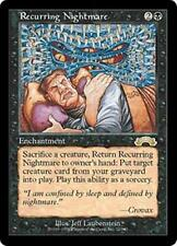 RECURRING NIGHTMARE Exodus MTG Black Enchantment RARE