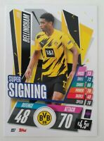 2020/21 Match Attax UEFA Champions - Jude Bellingham SS7 Super Signing Dortmund