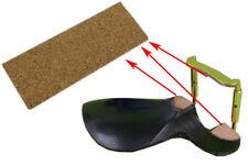 2pcs Violin Chin Rest Cork Mat Board Set up On Chin Rest Violin Parts 45x65x2mm