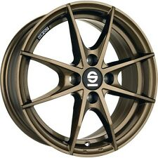Alloy Sparco Trofeo Smart Fortwo Forfour 453 Bronze Gold 16 Inch Four Piece