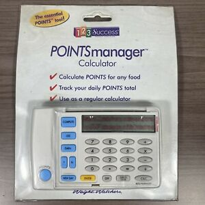 Vintage 1997 Weight Watchers 123 Success Points Manager Calculator NEW
