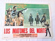 RARE VINTAGE MEXICAN MOVIE POSTER 1985 Los Matones del Norte Cadetes de Linares