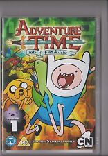 ADVENTURE TIME VOLUME 1 DVD FINN JAKE CONTAINS 5 EPISODES KIDS