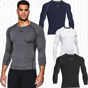 Under Armour Men's Compression HeatGear Long Sleeve Top 1257471 - Free Shipping