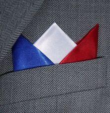 SUPERNOVA raso Blu Bianco Rosso 3 PUNTO cardate Fazzoletto Inghilterra Francia