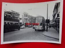 PHOTO  ROTHERHAM DAIMLER CTE6 TROLLEY BUS NO 43 REG FET 616 CORPORATION ST