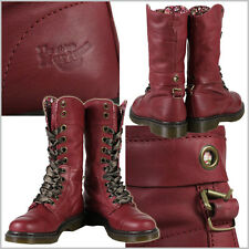 Dr. Martens Women's Triumph 1914 W Cherry Red Boot  US 8 EU 39 UK 6 LAST!