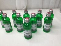 Lot Of 10 empty mini liquor bottle 50mL Plastic Tangueray