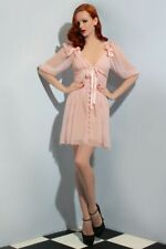 Wheels and Dollbaby Pink Lana Dress sz 10