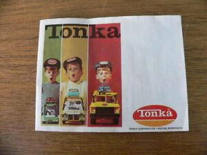 Vintage Tonka Toys Booklet Catalog Advertising Brochure