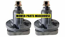 2 REPLACEMENT JOHN DEERE DECK BLADE SPINDLE ASSEMBLY GY20050 GY20785 L100 L110
