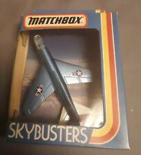 Matchbox Sky-Busters SB-2 Corsair A 7 D 1981 New In Box
