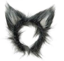 ** Hairy Wolf Orejas Diadema Adulto Para Niños Disfraces Nuevo ** Animal
