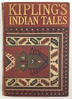 1899 Vtg Indian Tales Short Stories Rudyard Kipling Illustrated Folklore Binding