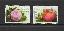 CANADA - 2008 PEONIES - SCOTT 2261 TO 2262 - USED