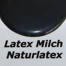 1Liter Flüssiglatex SCHWARZ DICKFLÜSSIG Low Ammoniak Latexmilch  Flüssiggummi