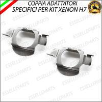 2 x ADATTATORI PORTA LAMPADE KIT XENON H7 PER AUDI RENAULT SCENIC 4 IV