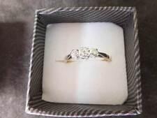 Antique Solid 9ct Yellow Gold&Platinum Diamond Ring - reduced price!!