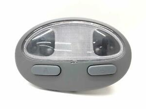 2006 Suzuki Forenza Front Interior Dome Map Reading Lights Lamps Gray 96206561
