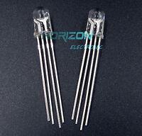 50Pcs LED RGB common cathode 4-PINS F5 5MM Super Bright Bulb Lamp