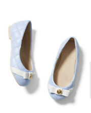 *NWT* $59 Janie & Jack Quilted Bow Ballet Flat Periwinkle 12 SOLD OUT