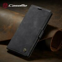 Genuine CaseMe Leather Wallet Case Cover For Samsung Galaxy S9 S10 Note 10+ A50