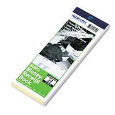 """Rediform Money Receipt Book, 23/4 x 7, Carbonless Triplicate, 50 Sets/Book"""