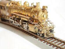United Scale Models HO Brass Santa Fe 2-8-0 Loco w/Tender