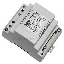 COMATEC TBD2/018.12/F4 Klingel-Transformator mit Sicherung 230V~/12V~ 1,5A