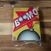 Boom-O Card Game Mattel 2000 Complete Rare Vintage Very Good Condition