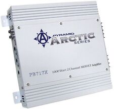 NEW Pyramid - PB717X - 1000 Watt 2 Channel Bridgeable MOSFET Car Amplifier