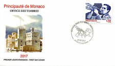 Monaco 2017 FDC Aimé Barelli 1v Cover Trumpets Musical Instruments Music Stamps
