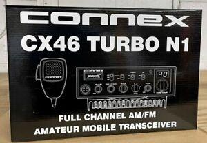 Connex CX46 Turbo N1 10-Meter Amateur Mobile Radio AM/FM 150W Transceiver NEW