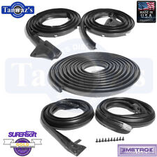 70-72 Duster Weatherstrip Seal Kit Fastback Coupe w/swing out qtr glass 5 Pcs