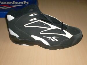 vintage shoes reebok octane mid collectors only 11.5 usa  new blk/wht   1990  80